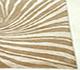 Jaipur Rugs - Tibetan Wool and Bamboo Silk Beige and Brown YNB-06 Area Rug Cornershot - RUG1055015