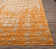 Jaipur Rugs - Hand Knotted Wool and Viscose Beige and Brown YRH-703 Area Rug Cornershot - RUG1066101