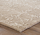 Jaipur Rugs - Hand Knotted Wool Beige and Brown YRS-703 Area Rug Cornershot - RUG1058894