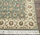 Jaipur Rugs - Hand Knotted Wool Green BT-107 Area Rug Cornershot - RUG1062304
