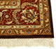 Jaipur Rugs - Hand Knotted Wool Beige and Brown JC-132 Area Rug Cornershot - RUG1042970