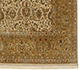 Jaipur Rugs - Hand Knotted Wool and Silk Ivory QNQ-16 Area Rug Cornershot - RUG1043095