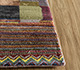 Jaipur Rugs - Hand Knotted Wool and Bamboo Silk Ivory ESRM-5221 Area Rug Cornershot - RUG1106433