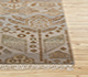 Jaipur Rugs - Hand Knotted Wool and Bamboo Silk Grey and Black LES-286 Area Rug Cornershot - RUG1083999