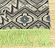 Jaipur Rugs - Hand Knotted Wool and Bamboo Silk Ivory LES-357 Area Rug Cornershot - RUG1089423