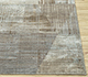 Jaipur Rugs - Hand Knotted Wool and Bamboo Silk Grey and Black SRB-730 Area Rug Cornershot - RUG1085016