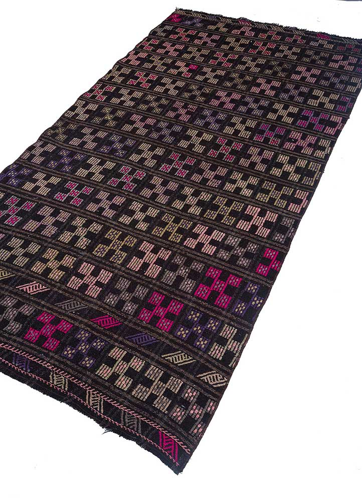Jaipur Rugs Hand Knotted Wool Pink And Purple Sdkl 19 Area Rug Rug1114393