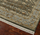 Jaipur Rugs - Hand Knotted Wool and Silk Green QNQ-44 Area Rug Floorshot - RUG1017942