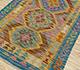 Jaipur Rugs - Flat Weave Wool Gold AFDW-135 Area Rug Floorshot - RUG1090912