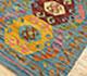 Jaipur Rugs - Flat Weaves Wool Blue AFDW-169 Area Rug Floorshot - RUG1090842