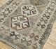 Jaipur Rugs - Flat Weave Wool Beige and Brown AFDW-243 Area Rug Floorshot - RUG1090931