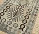 Jaipur Rugs - Flat Weave Wool Beige and Brown AFDW-244 Area Rug Floorshot - RUG1090932