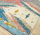 Jaipur Rugs - Hand Knotted Wool Ivory AFKW-128 Area Rug Floorshot - RUG1091712