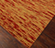 Jaipur Rugs - Flat Weaves Wool Red and Orange CX-2357 Area Rug Floorshot - RUG1053854