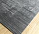 Jaipur Rugs - Hand Loom Wool and Viscose Grey and Black CX-2515 Area Rug Floorshot - RUG1077807