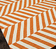 Jaipur Rugs - Flat Weaves Wool Red and Orange DW-112 Area Rug Floorshot - RUG1101334