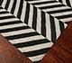Jaipur Rugs - Flat Weaves Wool Grey and Black DW-112 Area Rug Floorshot - RUG1032903