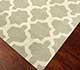 Jaipur Rugs - Flat Weave Wool Grey and Black DW-138 Area Rug Floorshot - RUG1041741