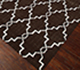 Jaipur Rugs - Flat Weave Wool Beige and Brown DW-162 Area Rug Floorshot - RUG1060328