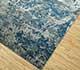 Jaipur Rugs - Hand Knotted Wool and Bamboo Silk Blue ESK-401 Area Rug Floorshot - RUG1068993