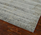 Jaipur Rugs - Hand Knotted Wool and Bamboo Silk Grey and Black ESK-404 Area Rug Floorshot - RUG1039008