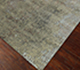 Jaipur Rugs - Hand Knotted Wool and Bamboo Silk Green ESK-404 Area Rug Floorshot - RUG1040366