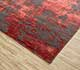 Jaipur Rugs - Hand Knotted Wool and Bamboo Silk Grey and Black ESK-431 Area Rug Floorshot - RUG1065321