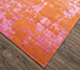 Jaipur Rugs - Hand Knotted Wool and Bamboo Silk Pink and Purple ESK-431 Area Rug Floorshot - RUG1074646