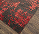 Jaipur Rugs - Hand Knotted Wool and Bamboo Silk Pink and Purple ESK-431 Area Rug Floorshot - RUG1094424