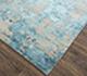 Jaipur Rugs - Hand Knotted Wool and Bamboo Silk Blue ESK-431 Area Rug Floorshot - RUG1073740
