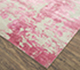 Jaipur Rugs - Hand Knotted Wool and Bamboo Silk Pink and Purple ESK-431 Area Rug Floorshot - RUG1072271