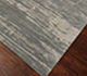 Jaipur Rugs - Hand Knotted Wool and Bamboo Silk Grey and Black ESK-432 Area Rug Floorshot - RUG1065247
