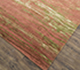 Jaipur Rugs - Hand Knotted Wool and Bamboo Silk Beige and Brown ESK-432 Area Rug Floorshot - RUG1081294