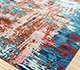 Jaipur Rugs - Hand Knotted Wool and Bamboo Silk Red and Orange ESK-439 Area Rug Floorshot - RUG1090245