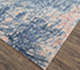 Jaipur Rugs - Hand Knotted Wool and Bamboo Silk Blue ESK-441 Area Rug Floorshot - RUG1074206