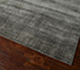 Jaipur Rugs - Hand Knotted Wool and Bamboo Silk Grey and Black ESK-472 Area Rug Floorshot - RUG1053780