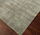 Jaipur Rugs - Hand Knotted Wool and Bamboo Silk Grey and Black ESK-472 Area Rug Floorshot - RUG1053781
