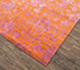 Jaipur Rugs - Hand Knotted Wool and Bamboo Silk Red and Orange ESK-623 Area Rug Floorshot - RUG1074663