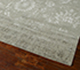 Jaipur Rugs - Hand Knotted Wool and Bamboo Silk Grey and Black ESK-624 Area Rug Floorshot - RUG1042152