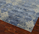 Jaipur Rugs - Hand Knotted Wool and Bamboo Silk Blue ESK-661 Area Rug Floorshot - RUG1070848