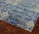 Jaipur Rugs - Hand Knotted Wool and Bamboo Silk Blue ESK-661 Area Rug Floorshot - RUG1058330