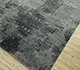 Jaipur Rugs - Hand Knotted Wool and Bamboo Silk Grey and Black ESK-661 Area Rug Floorshot - RUG1094466