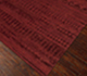 Jaipur Rugs - Hand Knotted Wool and Bamboo Silk Red and Orange ESK-663 Area Rug Floorshot - RUG1062183