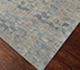 Jaipur Rugs - Hand Knotted Wool and Bamboo Silk Grey and Black ESK-680 Area Rug Floorshot - RUG1065349