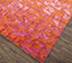 Jaipur Rugs - Hand Knotted Wool and Bamboo Silk Red and Orange ESK-680 Area Rug Floorshot - RUG1074636