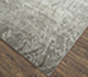 Jaipur Rugs - Hand Knotted Wool and Bamboo Silk Grey and Black ESK-724 Area Rug Floorshot - RUG1078398