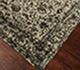 Jaipur Rugs - Hand Knotted Wool and Bamboo Silk Grey and Black ESK-761 Area Rug Floorshot - RUG1062198