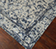 Jaipur Rugs - Hand Knotted Wool and Bamboo Silk Blue ESK-761 Area Rug Floorshot - RUG1062199