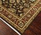 Jaipur Rugs - Hand Knotted Wool Beige and Brown JC-132 Area Rug Floorshot - RUG1062307