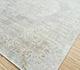 Jaipur Rugs - Hand Knotted Wool and Silk Blue JPL-03 Area Rug Floorshot - RUG1088181